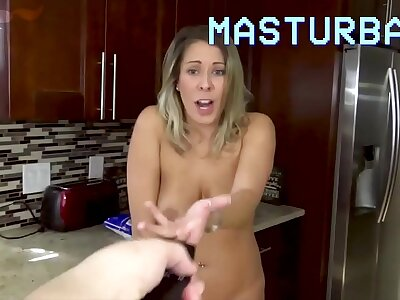 Son Controls Mom with Magic Remote Hand out - Son Air force Mom nearly Fuck Him, POV - Mom Fucks Son, Forced Sex, MILF - Nikki Brooks