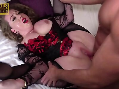 PASCALSSUBSLUTS - BBW Kitten Fed Cum Together with Dominated Hard by Dab hand