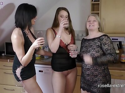 3 nasty ladies increased by a speed a plant slave! Piss increased by snot for a slave mouth