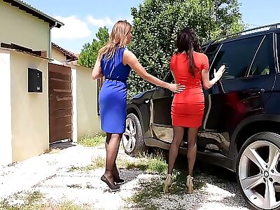 Luxury Foot Talisman sluts Anissa Kate & Ani Blackfox Think the world of Outdoors