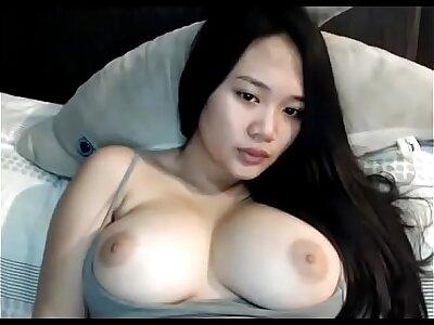Despondent obese boobs Asian unreserved on cam