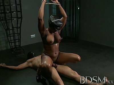 BDSM XXX Hostage slave little shaver gets hardcore treatment from his powerful and horny Lint